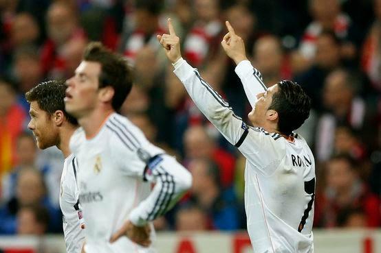 Real Madri vence e humilha Bayern por 0-4