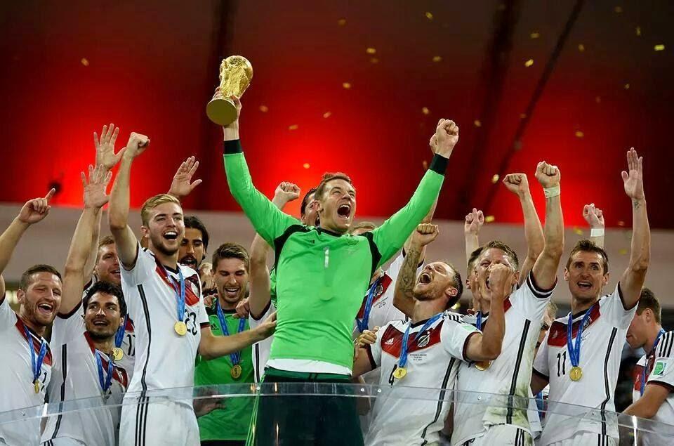 Alemanha vence Argentina por 1-0 e sagra-se campeã do mundo