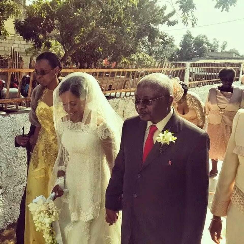 Valentina Guebuza casou-se oficialmente
