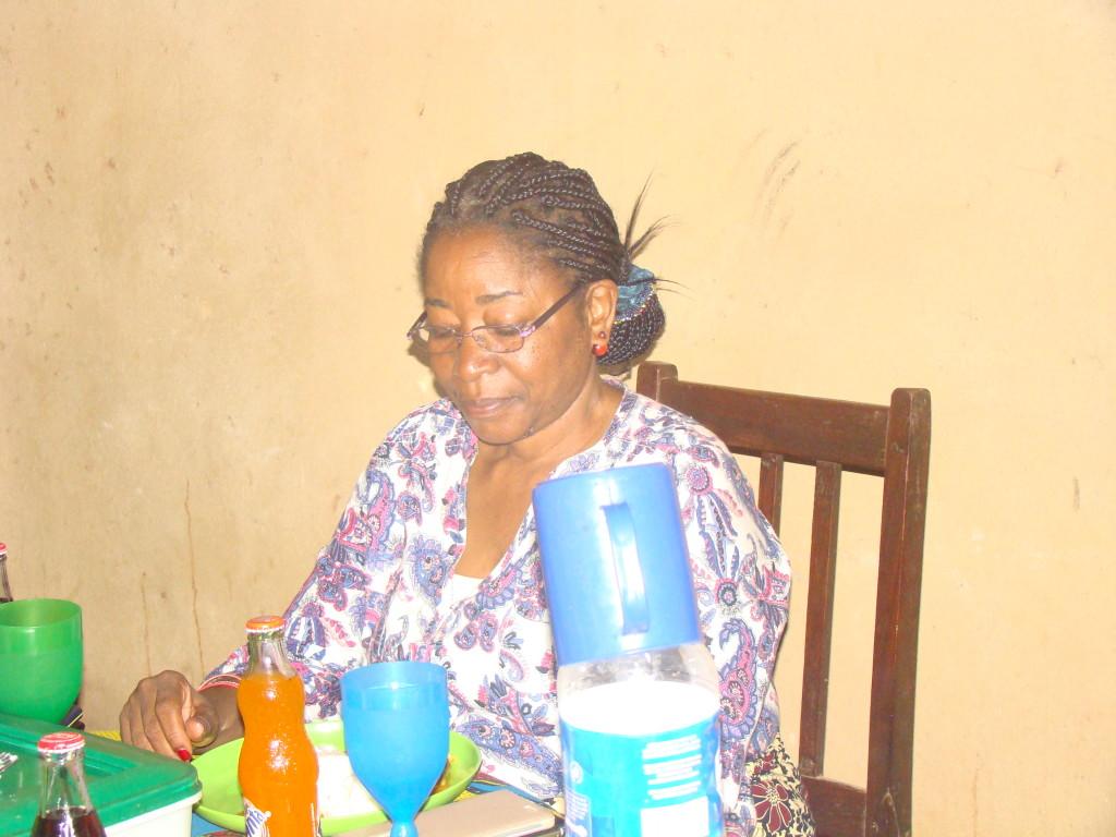 A deputada do maior partido da oposição, Maria Inoque