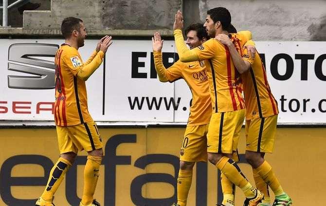 Barcelona vence em Eibar (4-0) e cimenta a liderança do Campeonato espanhol