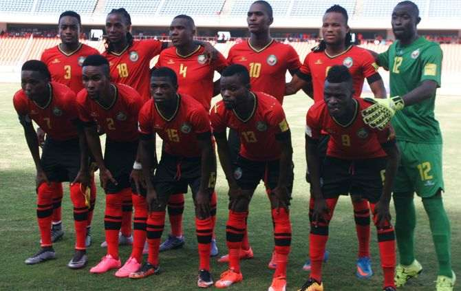 Moçambique recebeu e venceu Maurícias por (1-0) nos descontos