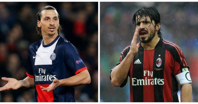 "Thiago Silva diz ""certa vez Ibrahimovic jogou Gattuso na lata de Lixo"""