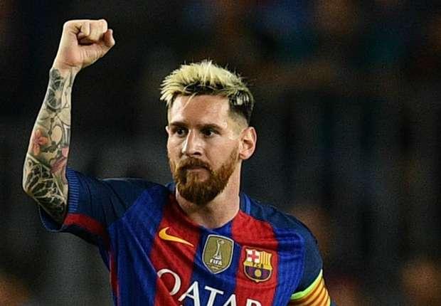 Messi marca três golos na vitória do Barcelona sobre o Manchester City (4-0)