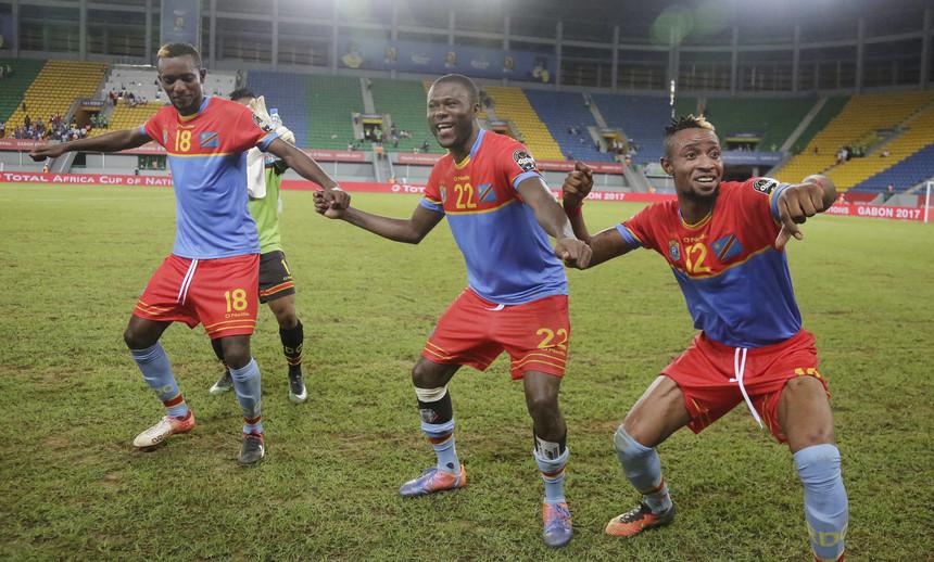CAN 2017: RD Congo vence Togo por (3-1) e apura-se para a Fase Seguinte
