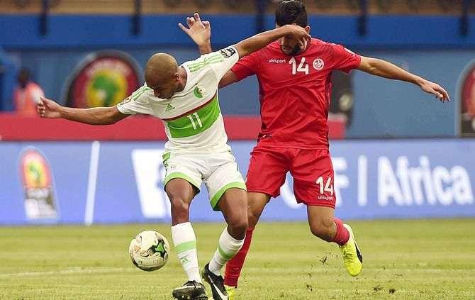CAN 2017: Tunísia vence a Argélia por 2-1