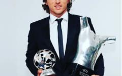 Luka Modric foi eleito o melhor jogador da UEFA