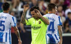 Barcelona é Derrotado pelo Leganés por 2-1